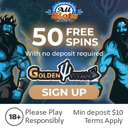 all slots casino exclusive 50 free spins