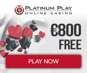 PlatinumPlay Casino 800 free bonus