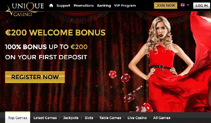 Unique casino 25 free spins